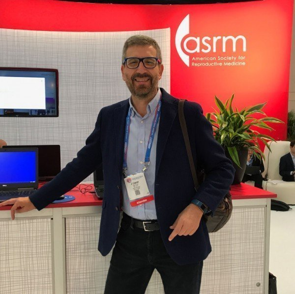 The doctor Joaquín Llácer in ASRM Congress