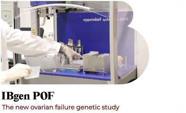 IBgen POF, the new ovarian failure genetic study